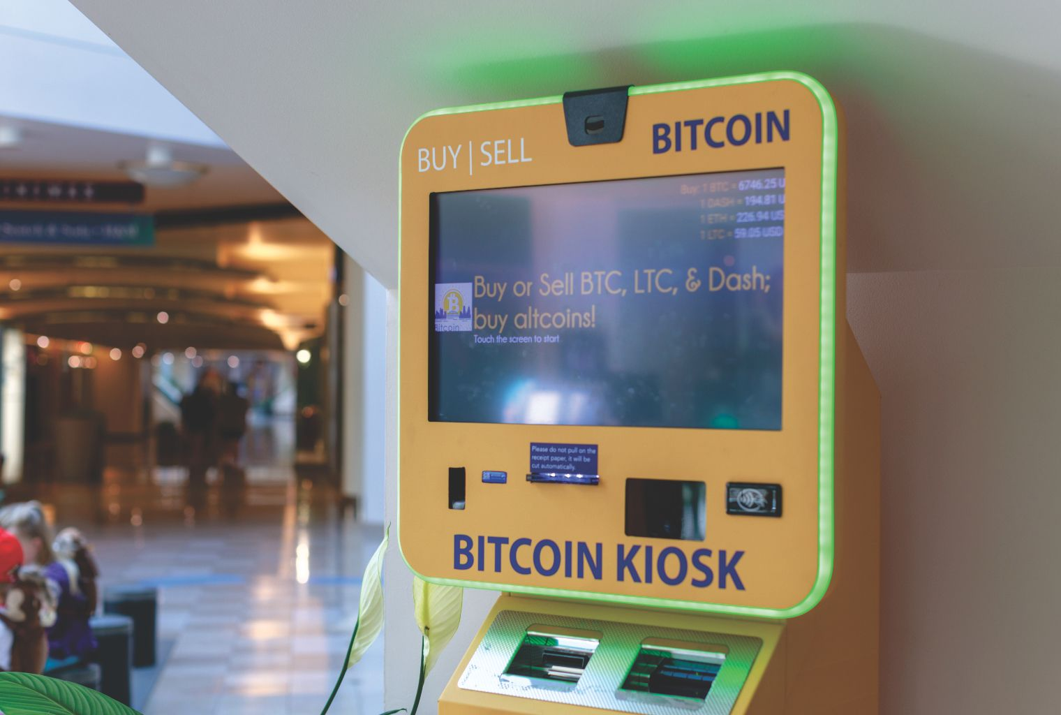 The Presence of Bitcoin ATMs in the US